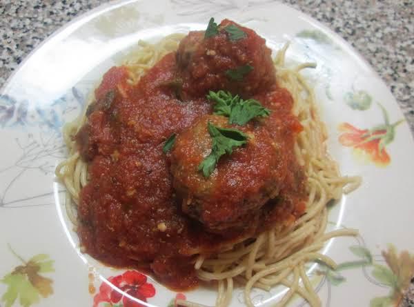 Monika's Magnificent Meatballs Recipe
