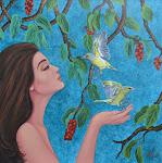 Original Artwork for Sale: Buy Canvas Paintings online in Indian Art Zone