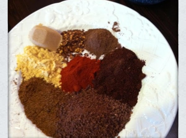 Getting started with the spices.