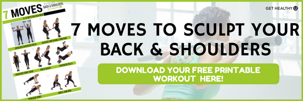 7 Moves To Sculpt Your Back And Shoulders