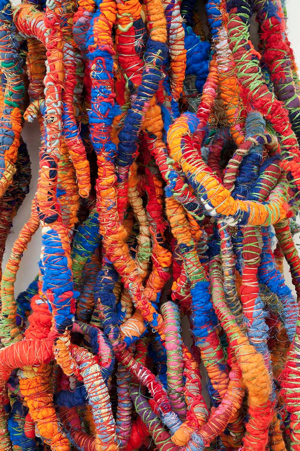 sheila hicks architecture of color
