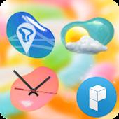 Jelly World Launcher Theme