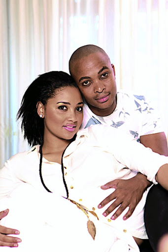 Jo-Anne Reyneke and Thami Mngqolo in happier times.