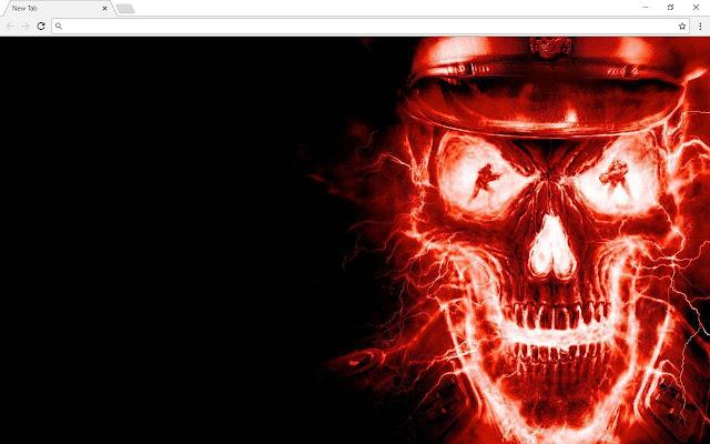 Skull New Tab & Themes