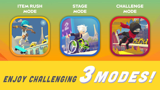 Smashing Rush : Parkour Action Run Game - náhled