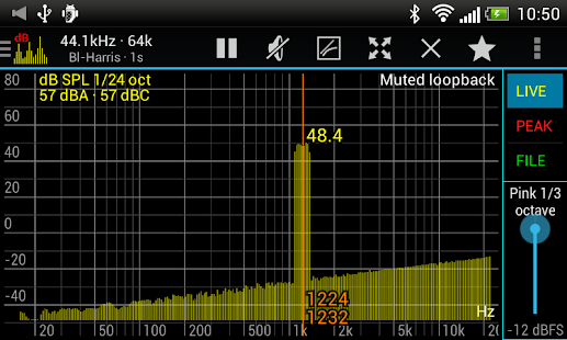 Sound Spectrum Pro Screenshot