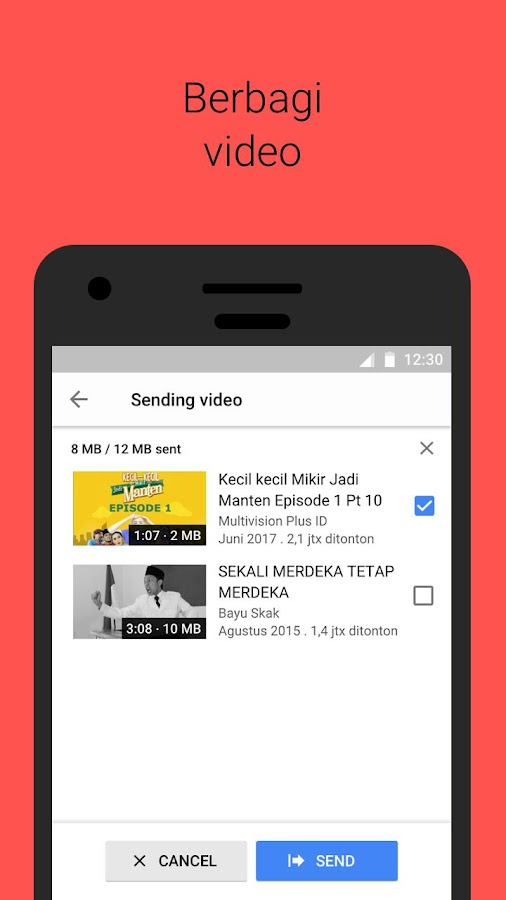 YouTube Go- screenshot