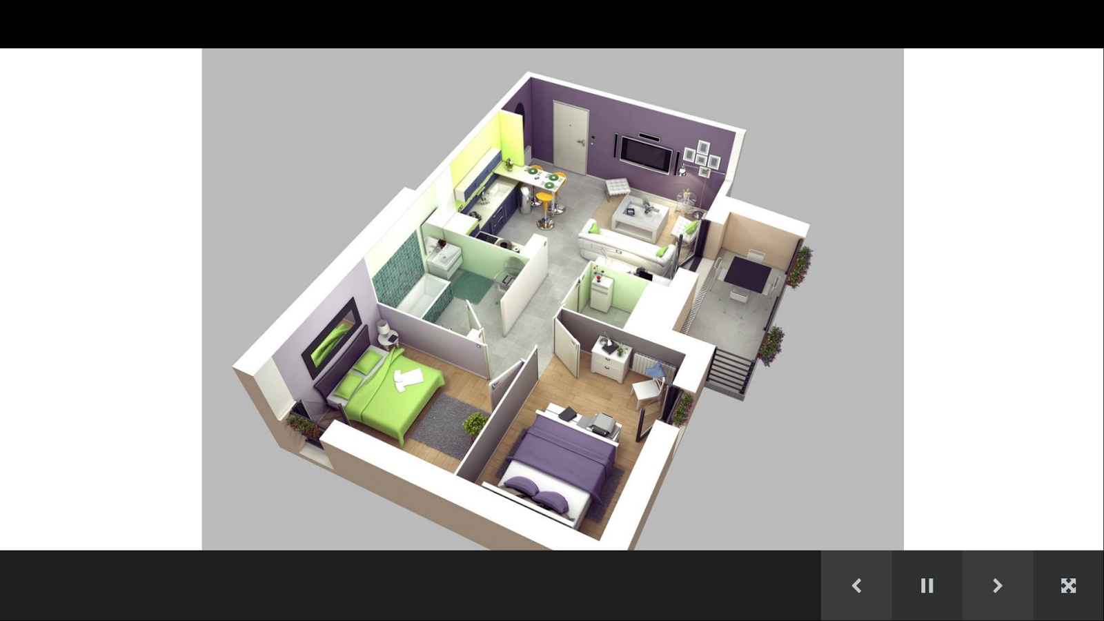 3d house plan gallery