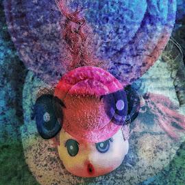 scream by Erl de Jose - Digital Art Things ( doll, toy, doll photography, digital art, things, barbie, digital photography )