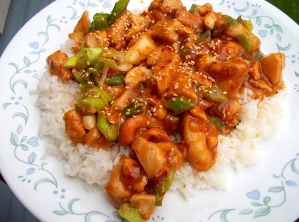 Delicious Cashew Chicken Recipe