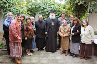 Photo: Панагюрище, обща снимка след беседата, 30 септември 2013 г.