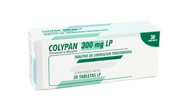 Colypan LP 300Mg   Tabletas Caja x30Tab Farma Trimebutina Maleato
