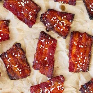 Brown Sugar Sriracha Bacon Bites.