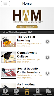 Hines Wealth Management- screenshot thumbnail