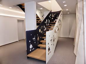 Photo: Designer-Treppen-Konstruktion aus Stahl