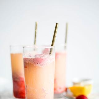 Strawberry Sorbet Float