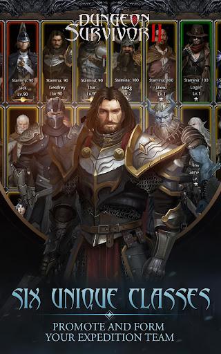 Dungeon Survivor II: Dark Tide apktram screenshots 9