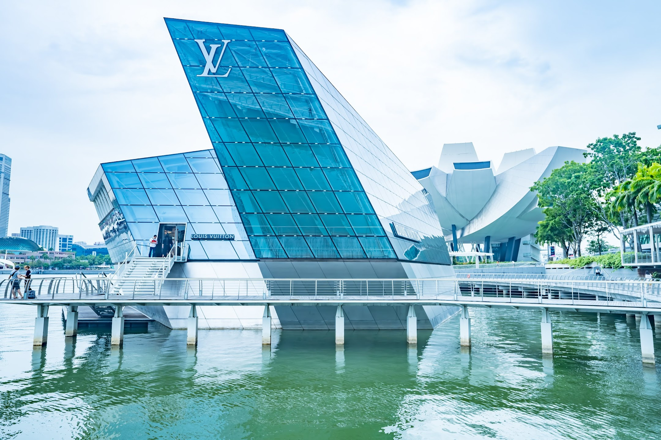 Singapore Marina Bay Sands Louis Vuitton