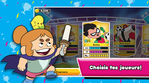 Toon Cup - Le jeu de foot de Cartoon Network fond d'écran 2