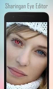 Real Sharingan Uchiha Eye edit - náhled