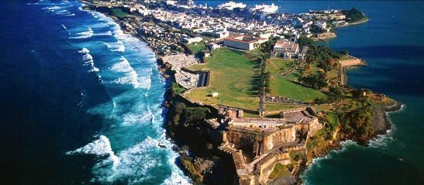 Região norte de Porto Rico