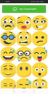 New Emojis Stickers 4D Animated WAStickerApps for PC-Windows 7,8,10 and Mac apk screenshot 5