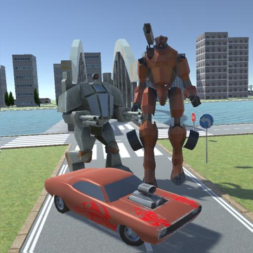 XRay Battle Robot