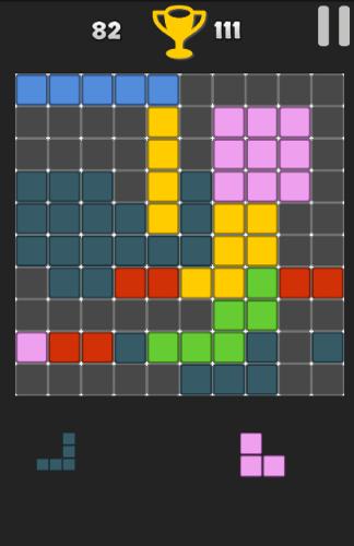 10 square 10 Puzzle Game
