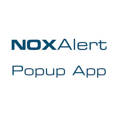 NOXAlert - Popup-applikation