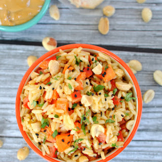 Thai Peanut Rice Bowl