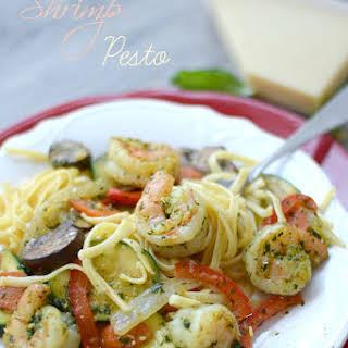 Shrimp Pesto.