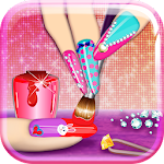 3D Nail Art Games for Girls Icon