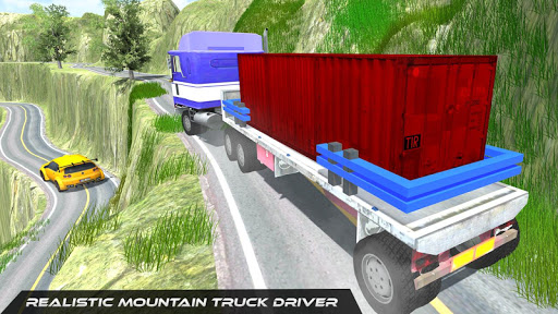 Télécharger Gratuit Cargo Truck Simulator Conduite en montée mod apk screenshots 2