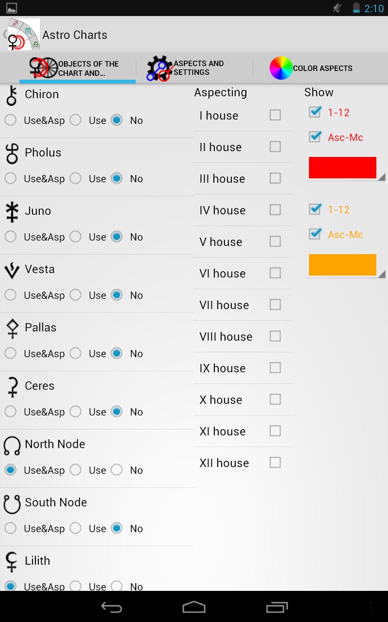 Astrological Charts Pro Screenshot 14