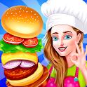 Cooking Street Food Restaurant Chef Kitchen Dash icon
