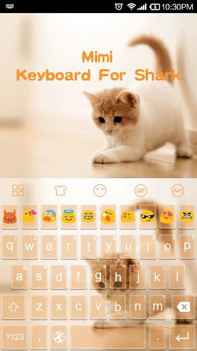 Cat Mimi -Video Emoji Keyboard