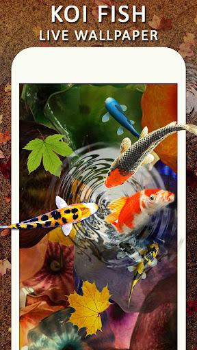Download Koi Water Pond Fish Live Wallpaper: 3D Fish Garden MOD APK 1