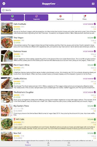 Find Vegan Restaurants & Vegetarian Food- HappyCow 62.0.26-free-v2 screenshots 18