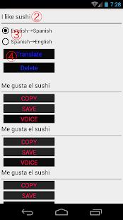 English to Spanish Translator - náhled