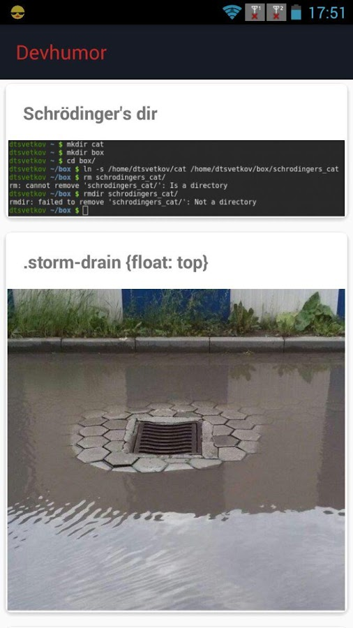 DevHumor: Humor for Developers- screenshot