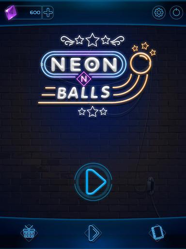 Neon n Balls apkpoly screenshots 13