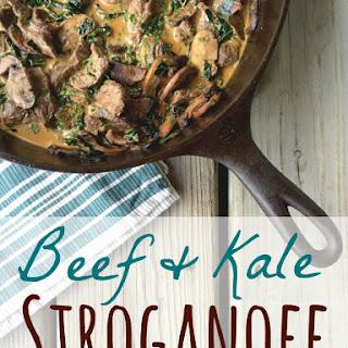 Beef & Kale Stroganoff.