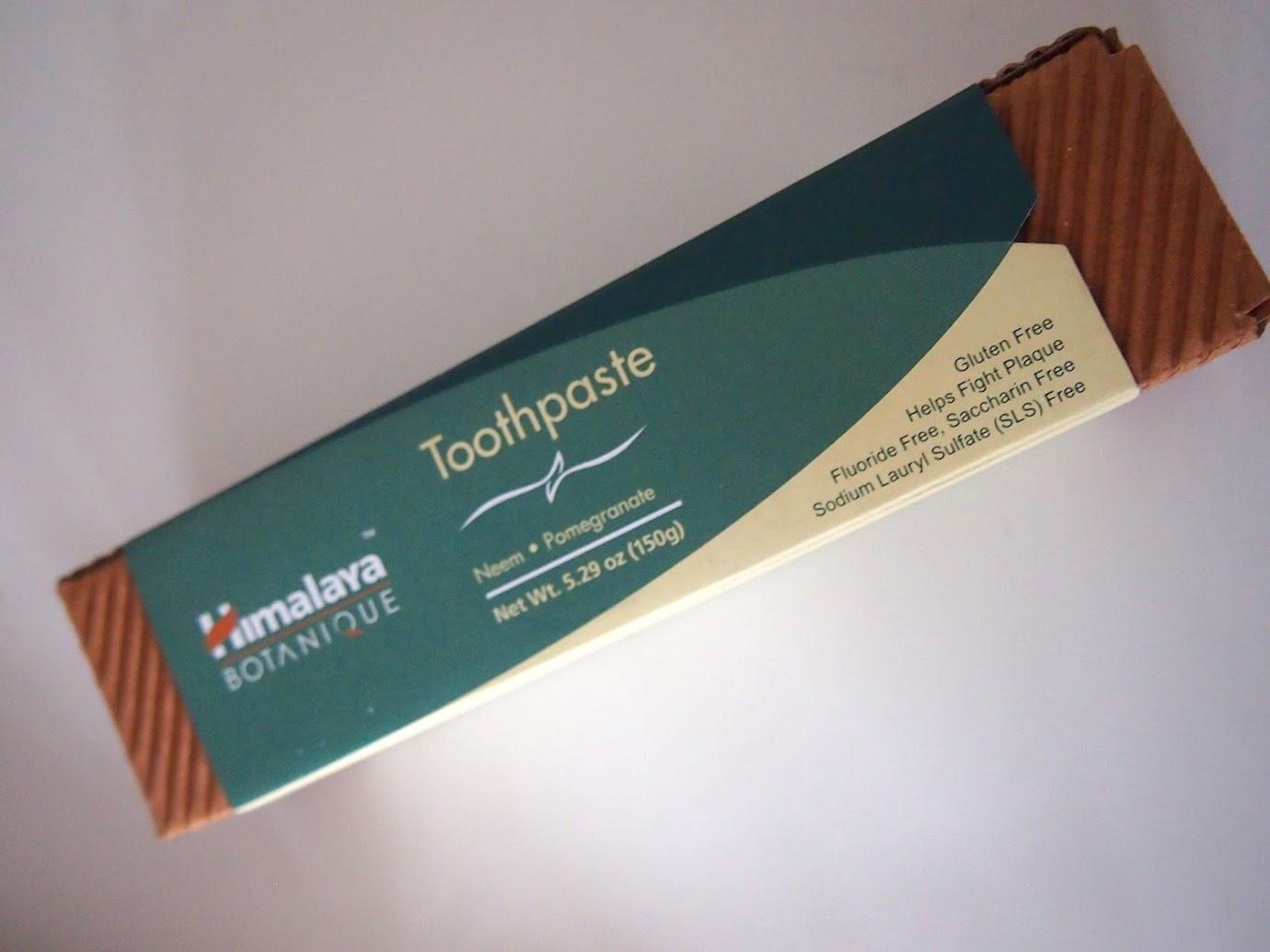 Himalaya Herbal Healthcare, ボタニーク(Botanique), 練り歯磨き, ニーム, ザクロ, フッ化物フリー, 5.29オンス(150 g)