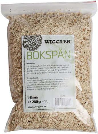 Wiggler Rökspån Bok