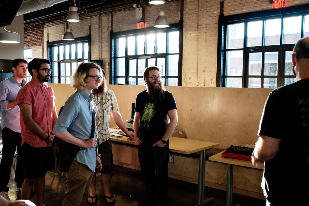 Hình ảnh buổi Meetup của cộng đồng yêu phím cơ Nashville