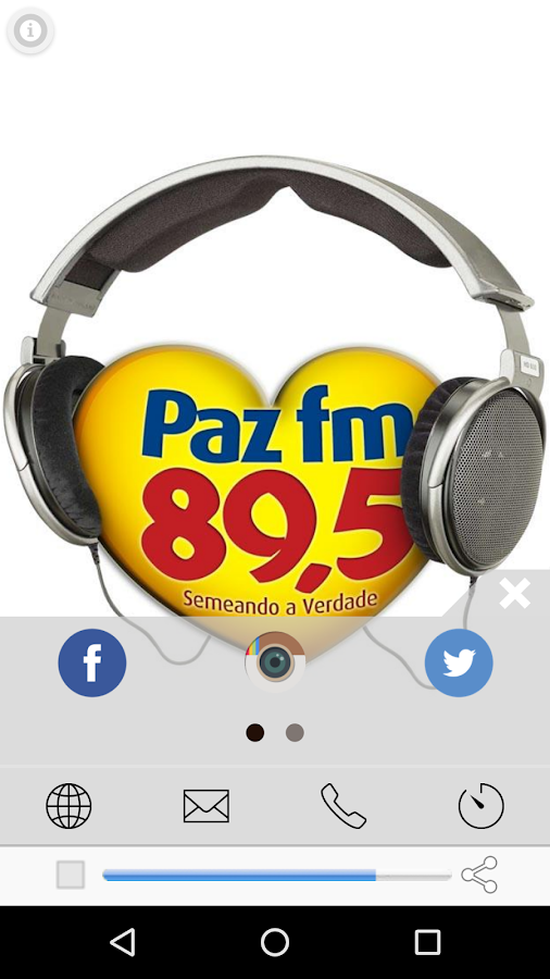 Radio Paz FM 89,5- screenshot