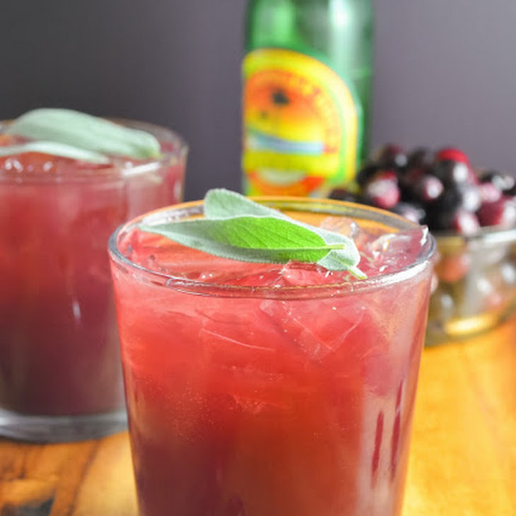Cranberry Sage Moscow Mules Recipe