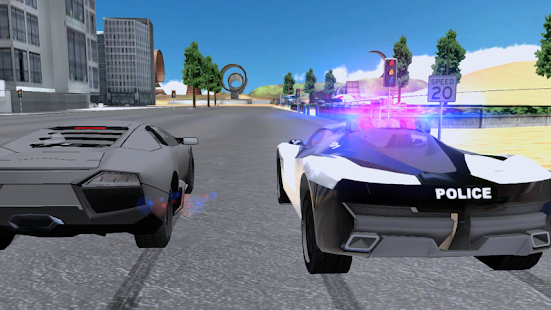 Police Chase Car Drifting- screenshot thumbnail
