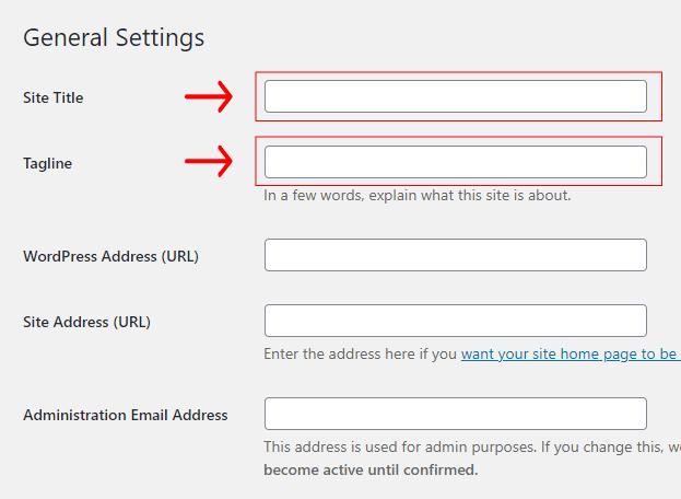 Langkah-Penting-Setelah-Install-WordPress-Melengkapi-Informasi