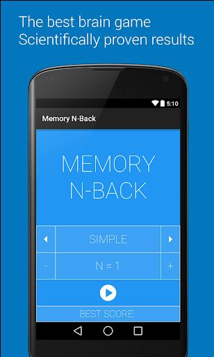 Memory Dual N-Back
